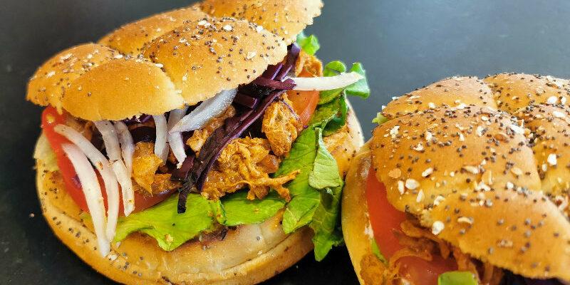Burger Pulled Pork, maison philip